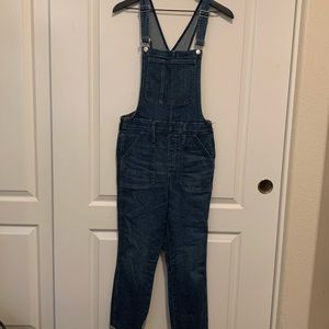 Madewell size large overalls